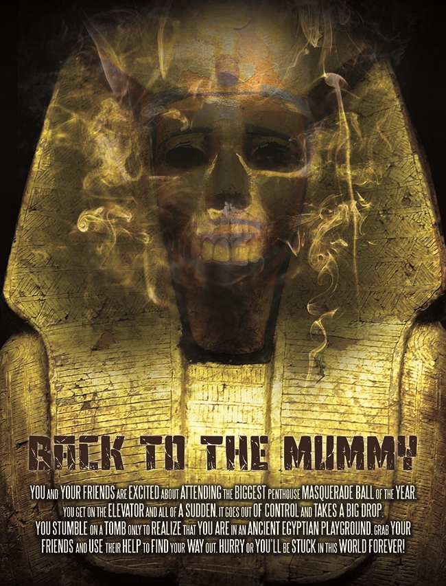 Escape Game Back to the Mummy, Roundabout Canada. Toronto.