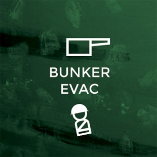 Escape Game The Bunker Evac, At Escape. Toronto.